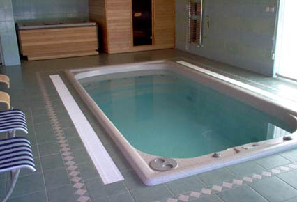 Minibasen Spa Swim Spa